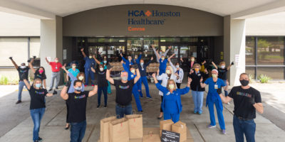 HHC Donates Meal to HCA Conroe